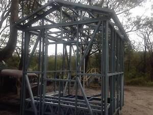 steel  shed on trailer Redland Bay Redland Area Preview