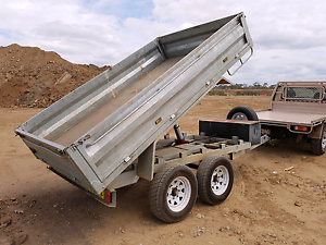 10x6 Hydraulic Tipper Trailer for Hire With Cage and Ramps Maryborough Fraser Coast Preview