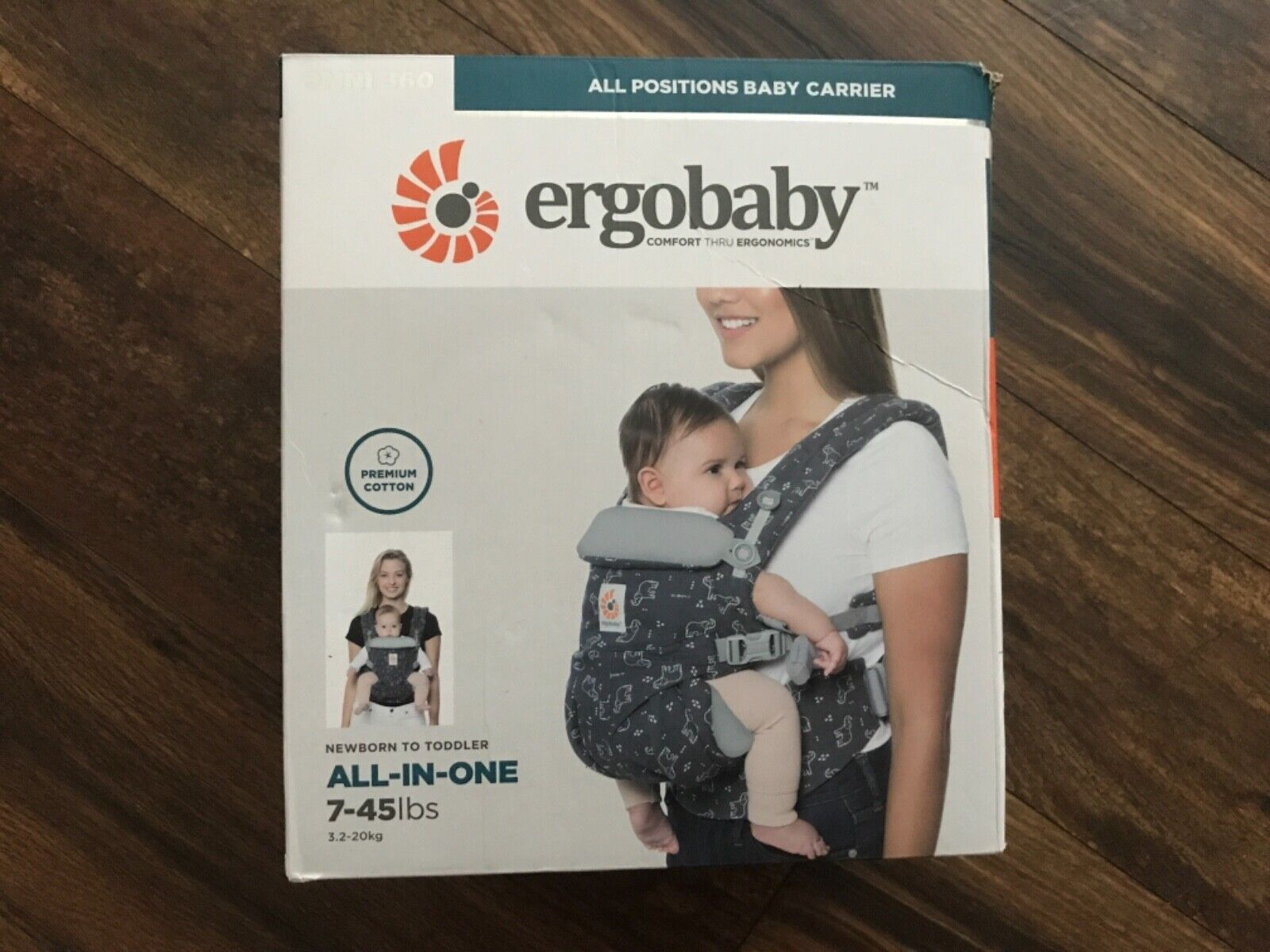 NEW Ergobaby Carrier Omni 360 All Carry Positions Baby Carri
