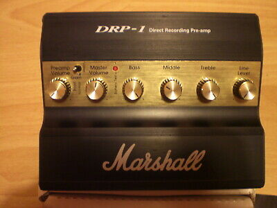 Marshall DRP1 direct recording pre amp guitar pedal