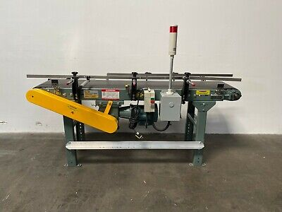 Hytrol Model Ta 70 X 14 Powered Belt Conveyor W 12 Hp Motor Controller