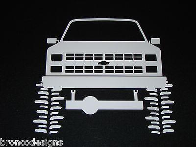 80's Chevrolet Chevy Truck/Blazer_ Sticker/Decal (Chevy Blazer Decals)