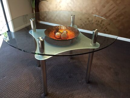 Nick Scale Glass Dining Table  Redland Bay Redland Area Preview