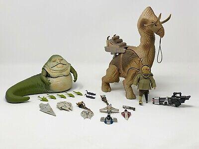STAR WARS LOT - Jabba The Hutt + Quiggold + Tattione Beast + Micro Machines