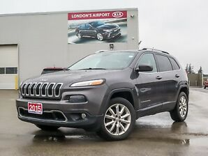 2015 Jeep Cherokee Limited AWD