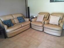MORAN leather sofa and armchairs Taringa Brisbane South West Preview