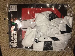 Star Wars two piece mask and jumpsuit storm trooper costume