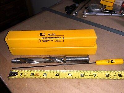 Kennametal Indexable Modular Drill Ksem0609r7ss075