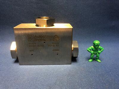 Parker Autoclave Ctx16 Medium Pressure Tee Fittings