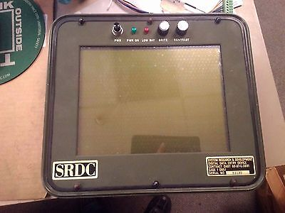 Srdc Military Digital Data Entry Device Contract Dabt 60-87-c3891 Touchscreen