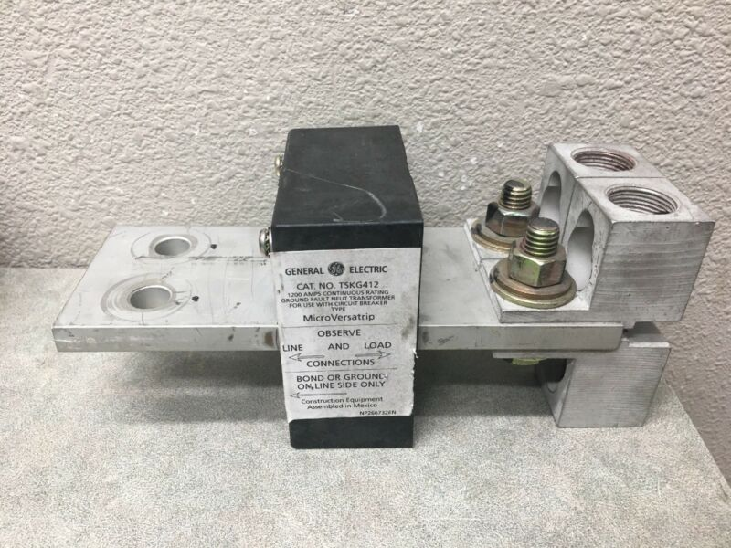 GE TSKG412 1200 AMP GROUND FAULT NEUTRAL TRANSFORMER (M)