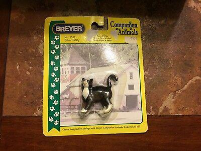 Breyer Companion Animal Silver Tabby  1511 Cat