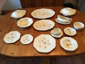 12 place-setting set of dishes