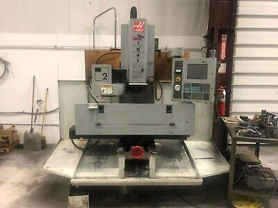 Haas Tool Room Mill Tm-2 10 Station Ct 40 Tool Changer