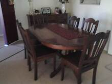 dining  table and chairs. Springfield Ipswich City Preview