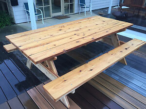 Local hand made picnic tables Mornington Mornington Peninsula Preview