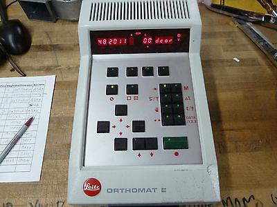 Leitz Orthomat E 543 634 Photomicrography Camera Controller 26-c