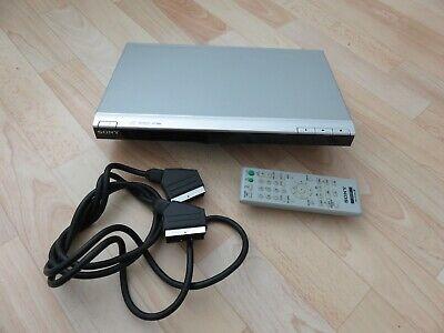 SONY DVP-SR100 CD/DVD Player mit Fernbedienung Scart , silber online kaufen