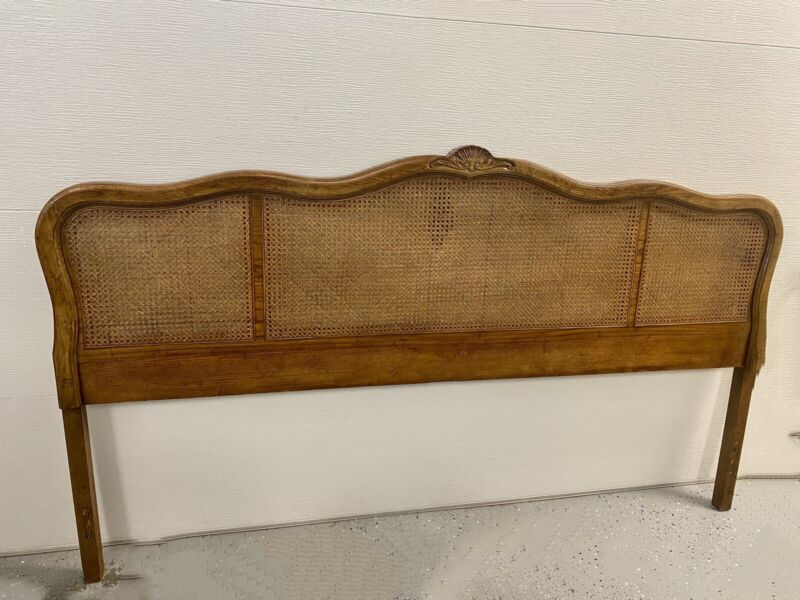 Drexal Heritage French Provisional King Cane Headboard