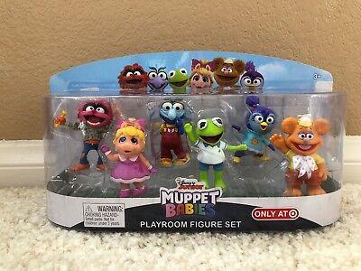Muppet Babies Playroom Kermit Frog Fozzie Bear Miss Piggy Animal 6 Figure 2018