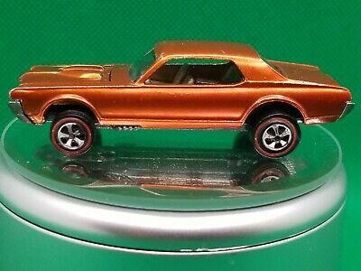 Hot Wheels Redlines US Orange Custom Cougar, All Original, Hard to Find Color, S