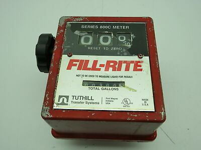 Tuthill Transfer System Fill-rite 800c Series Meter