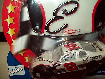 Dale Earnhardt Jr #8 E CONCERT HOOD & CAR PEARL WHITE #8 NASCAR Winners Circle  for sale  Shipping to Canada