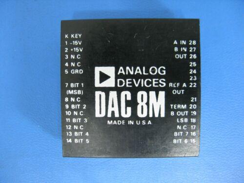 Analog Devices DAC8M 8-bit multiplying digital-to-analog converter