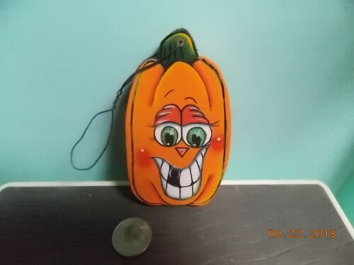 Happy Pumpkin Ornament