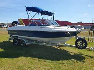550 Runabout Northbank, 115hp Mercury 4 stroke & trailer East Bunbury Bunbury Area Preview