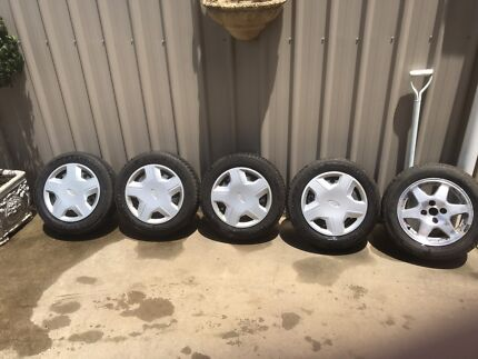 Ford Laser wheels and tyres