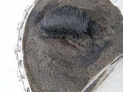 SPECIAL 15 Lbs. Genuine Black Magnetic Sand Pacific Ocean Beach