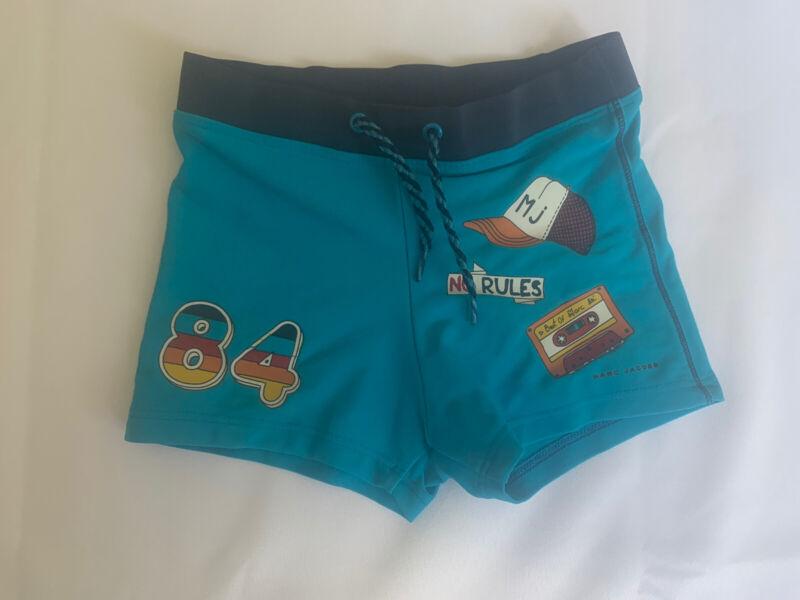 Little Marc Jacobs Boys Blue Swim Trunks Size 5