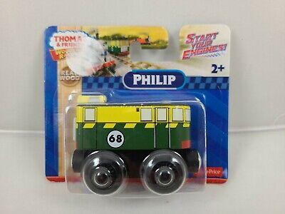 THOMAS & FRIENDS WOODEN RAILWAY PHILIP DXF18 2015 Wood Train Toy Green