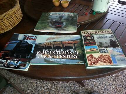 SELECTION OF BOOKS ON TRAINS