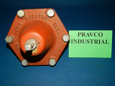 Cash Acme Decatur Pressure Reducing Regulator Valve .75npt 10-35psi