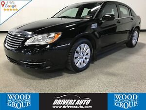 2013 Chrysler 200 LX BLUETOOTH, USB, WINTER TIRES