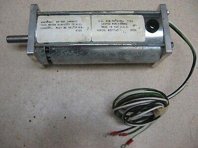 Dc Motor 115v 0.5 Diameter Shaft 1.80 Permanent Magnet Wind Water Turbine