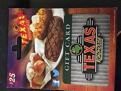 $25 Texas Roadhouse Gift Card