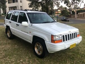 1997 Jeep Grand Cherokee 4X4 LIMITED Wagon Kellyville The Hills District Preview