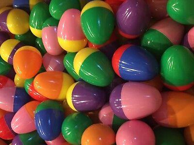 300 Full Chicken Machine Eggs Vending Capsules Toy Assortment Easter Eggs Toys