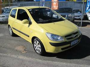 Hyundai Getz 3 door hatchback GL ,manual transmission with low KS Bedford Bayswater Area Preview