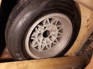 Trans Am Honeycomb Rims and Tires Snowflake WS6