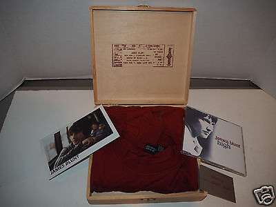 James Blunt House of Blues box set - shirt, CD, concert ticket ~~~~~ VERY RARE