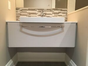 Bathroom Cabinet 48 inch with 24 inch sink