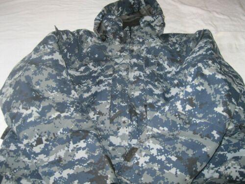 RARE Mens USN United States Navy Seal Polartec Camo Extreme Condition Parka SZ L