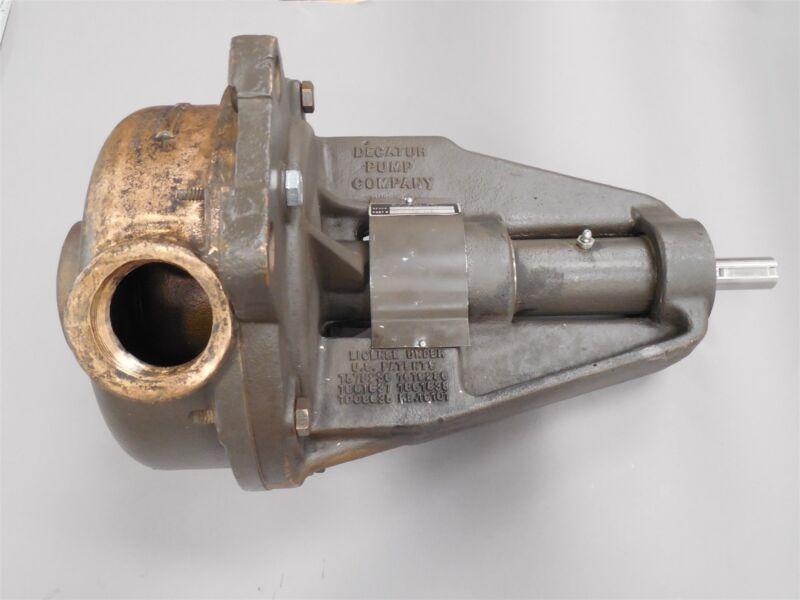 C.H. Bull Pump Turbine E-047-051 Burks Pumps E24M AB