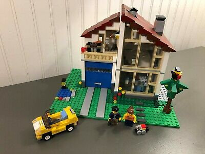 Lego Creator Family House #31012 100% Complete Minifigures