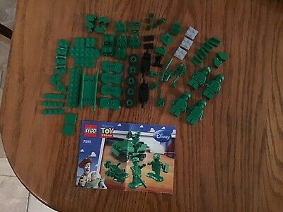 Lego Toy Story Army Men on Patrol 7595. 100% complete