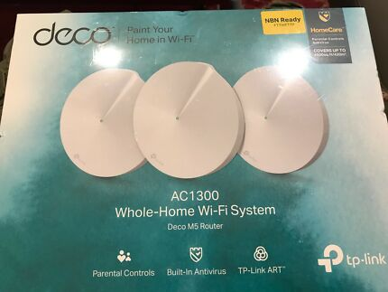 Tp - link Deco ac1300 whole home wifi system deco m5 router